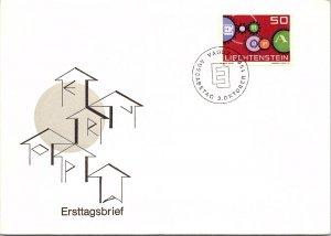 Liechtenstein, Worldwide First Day Cover
