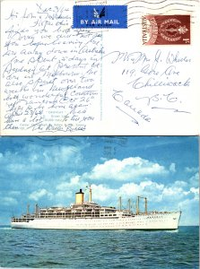 Australia, Picture Postcards, Ships