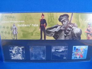 GREAT BRITAIN PHILATELIC PRESENTATION PACK - 1999 - SOLDIER'S TALE