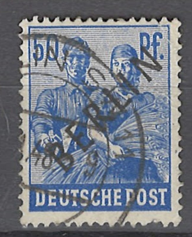 COLLECTION LOT # 2502 GERMANY BERLIN #9N13 1948 CV=$22.50