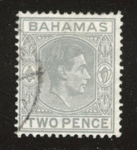 Bahamas Scott 103 Used 1938 gray stamp