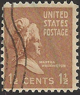# 805 USED MARTHA WASHINGTON