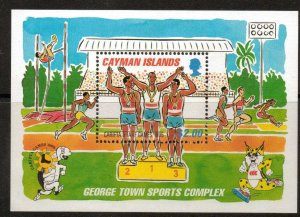 CAYMAN ISLANDS SGMS804 1995 C.A.R.I.FTA & LA.AF GAMES MNH