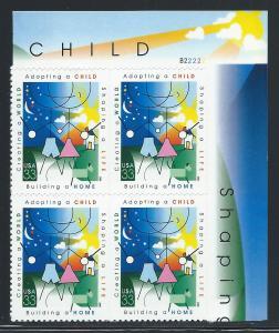 UNITED STATES SC# 3398 VF MNH 2000 Pl#B22222 UR B/4