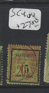 GUADELOUPE  (PP2001B)  SC 4  VFU