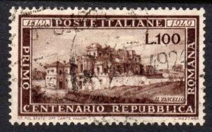 Italy 1949 Sc#518 Centenary of the Roman Republic USED