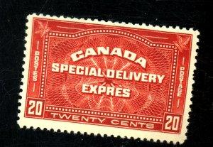 CANADA #E4 MINT FVF OG HR Cat $65