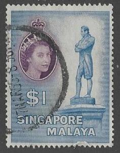 Singapore #40 Used (U7)