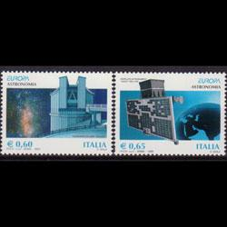 ITALY 2009 - Scott# 2926-7 Europa-Astronomy Set of 2 NH
