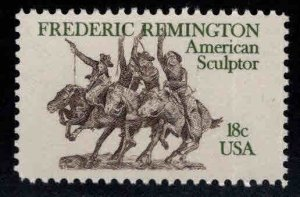 USA Scott 1934  Remington stamp American Sculpture