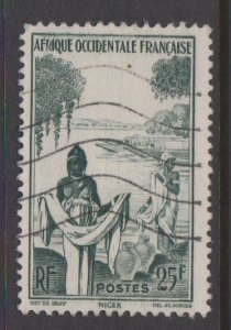 French West Africa Sc#54 Used