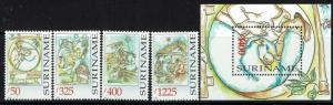 Surinam SC# 1155-1159, Mint Never Hinged - Lot 052117