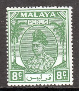 Malaya (Perlis) - Scott #23 - MH - SCV $2.75