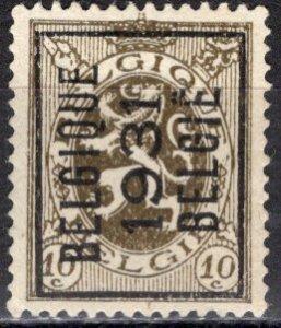 Belgium; 1929: Sc. # 202; O/Used Precancel Single Stamp