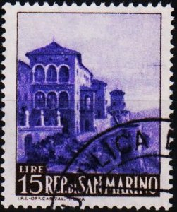 San Marino. 1966 15L S.G.796 Fine Used