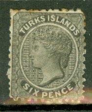 B: Turks Islands 2 mint CV $125