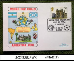 GREAT BRITAIN - 1978 WORLD CUP FINALS ARGENTINA COVER WITH SPECIAL CANCL.