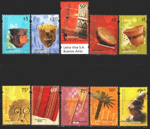 Argentina. 2000. 2590-99. Argentinean culture. MNH.