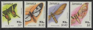 JAMAICA SG794/7 1991 PHILA NIPPON 91 MNH