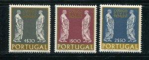 Portugal #1001-3 MNH
