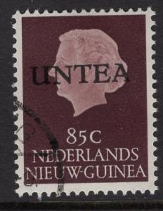 Netherlands West New Guinea UNTEA  #16 UN temporary authority 1962 cancelled 85c