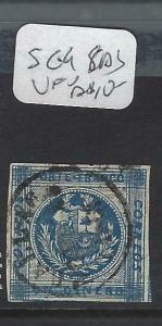 PERU  (P1204B)   IMPERF  SC 9 CALLAO SON CDS  VFU