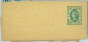 89168  - Cape of Good Hope - POSTAL HISTORY - STATIONERY wrapper  H & G # 1 1882