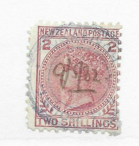 New Zealand #59 New Cancel - Used - Stamp CAT VALUE $450.00++