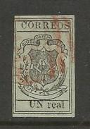 DOMINICAN REPUBLIC CLASSICS 7 BRITISH CANCELLED 1866 L262