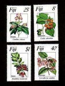 Fiji 495-498 Mint NH MNH Flowers!