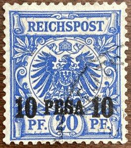 AlexStamps GERMAN EAST AFRICA #9 XF Used