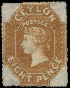 Ceylon Scott 30 Gibbons 32a Mint Stamp