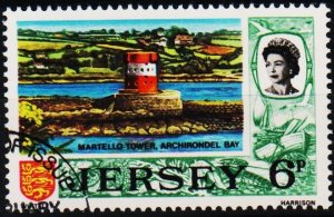 Jersey. 1970 6p S.G.51 Fine Used