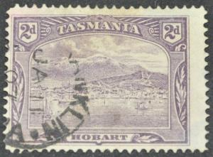 DYNAMITE Stamps: Tasmania Scott #104 - USED