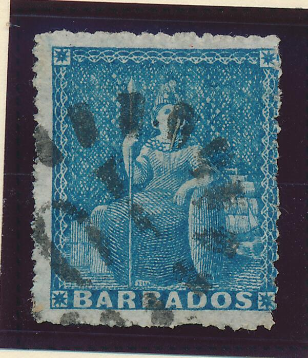 Barbados Stamp Scott #25, Used - Free U.S. Shipping, Free Worldwide Shipping ...