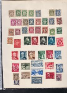 norway stamps page ref 17989