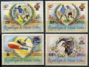 1983 Upper Volta 899-902 1982 FIFA World Cup in Spain 9,00 €