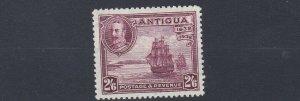 ANTIGUA  1932  SG 89  2/6  CLARET MH  CAT £55