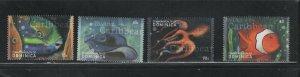 Dominica #2272-75 (2000 Fish set)  VFMNH  CV $5.00