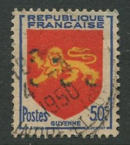 France - Scott 617 - General Definitive Issue -1949 - Used -50c Stamp