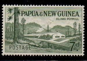 Papua New Guinea 142 1958 7d Klinki Plymill  stamp mint NH