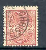 Danish West Indies Sc29 1903 2 c carmine stamp