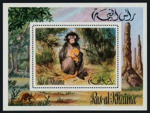 Ras al-Khaima MIBK 112A MNH Monkey