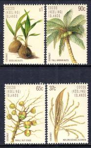 Cocos Keeling Islands 173-176 MNH VF