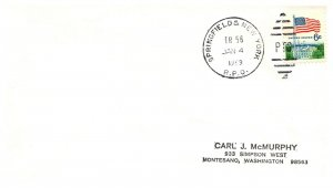 1969 Springfield & New York R.P.O.Railroad #125