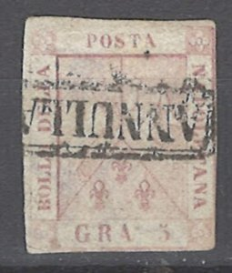 COLLECTION LOT # 2098 TWO SICILES #4 1858 CV=$75