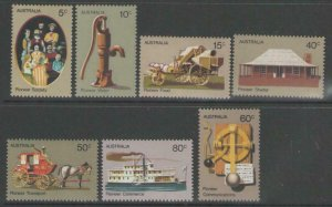 AUSTRALIA SG523/9 1972 PIONEER LIFE MNH