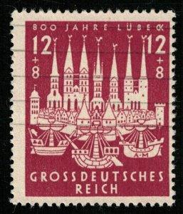1943, Lübeck's 800th Anniversary, Reich (T-8135)