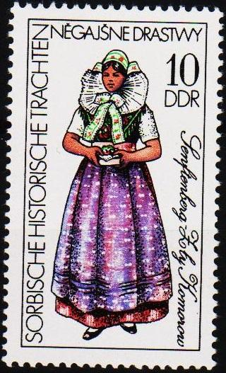 Germany(DDR). 1977 10pf  S.G.E1925 Unmounted Mint