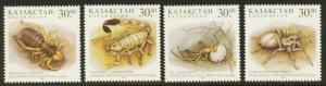 Kazakhstan Sc# 207-10 MNH Desert Fauna - Insects